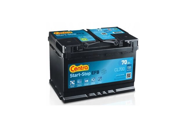 Akumulator 12V-70AH 720A Centra Start Stop CL700 278X175X190