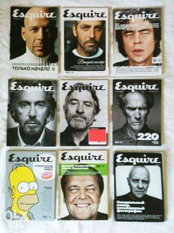 журнал Esquire, русское издание, коллекция за первые 4 года.