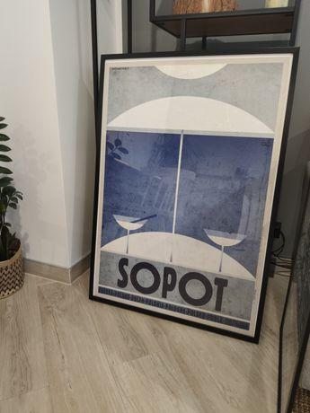 Plakat Sopot serii Plakat Polska Ryszard Kaja rozm. 68x98cm B1