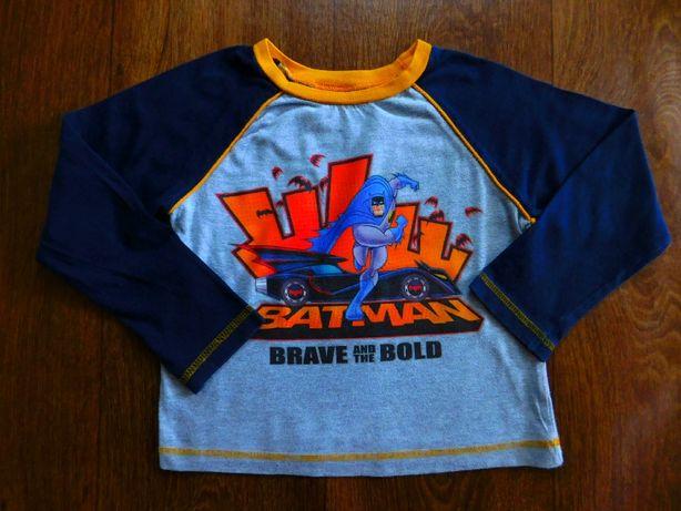 футболка 3-4 года M&Co мальчику 104 размер длинный рукав