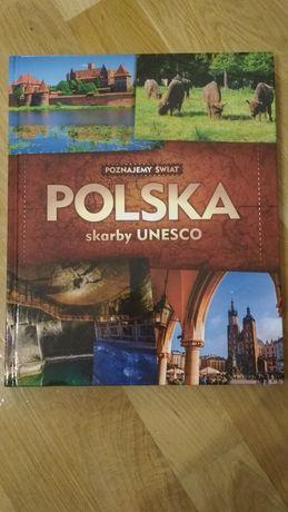 Książka Polska skarby UNESCO