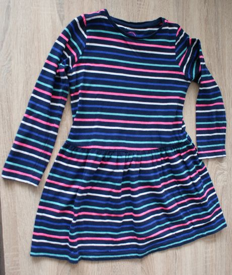 Sukienka w paski r.116