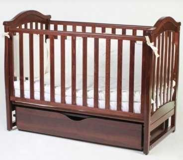 Детская кроватка Верес Соня ЛД6 Орех маятник с ящиком