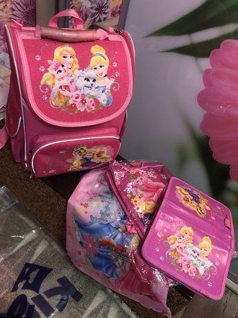 Продам портфель рюкзак ранец Kite. Кайт. Пенал и сумка для сменки