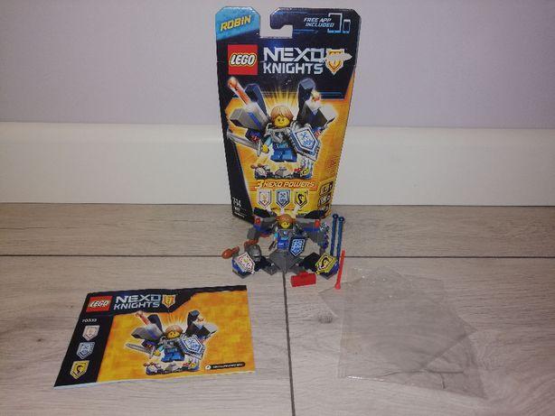Lego Nexo Knights 70333 Robin ze zbroją. OPIS.