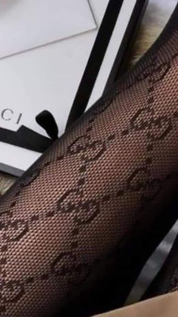 Rajstopy GG Gucci Gucci czarne