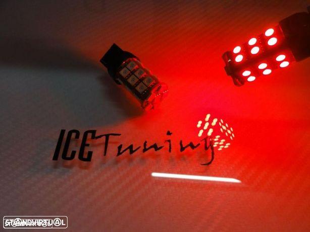 Led Can Bus T20 / 7440 21W Vermelho 4.5W, 400 LUMENS 12V LED SAMSUNG