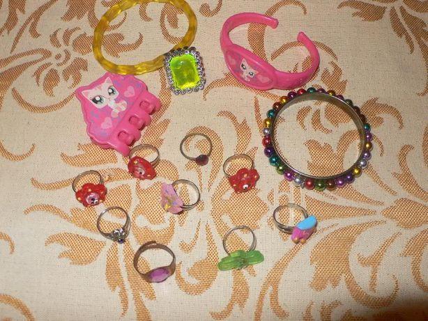 Кольца, браслеты, заколка