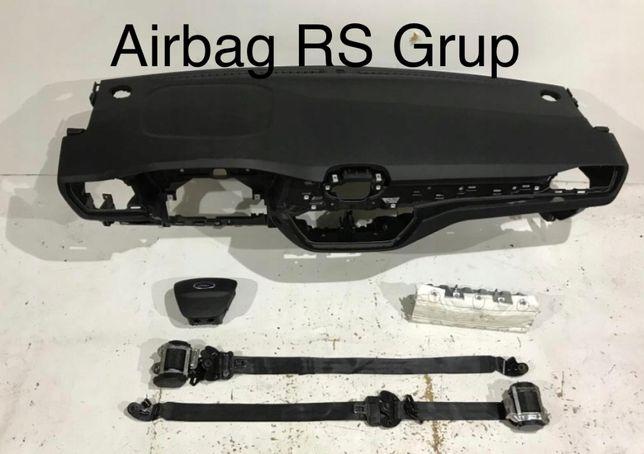 Ford Fiesta MK4 tablier airbags cintos