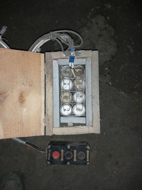 Конденсаторы для запуска мотора 2.8 КВ