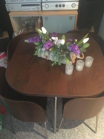 Komplet Ikea Fusion stół i 4 krzesła