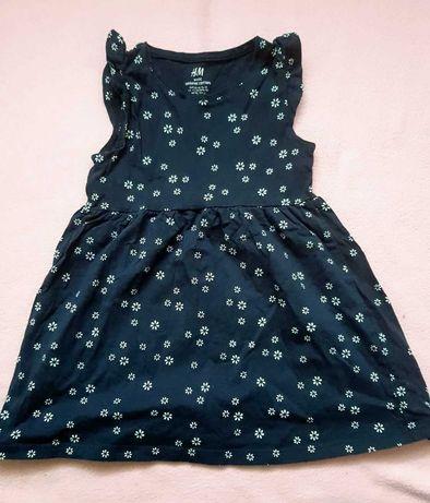 H&M sukienki Roz 92 oraz GAP krotkie spodenki 3 lata