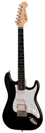 Gitara elektryczna Ever Play ST-2 SSH Blk +tuner