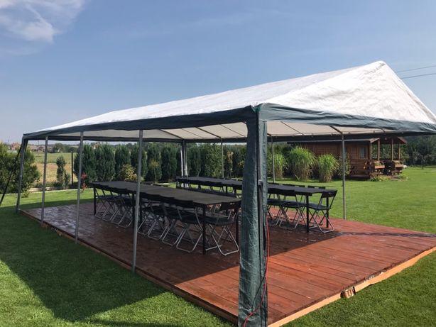 Wynajem namiotów imprezowych z wyposażeniem / kompleksowa obsługa impr