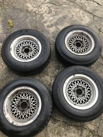 "Jantes Mahle BBS 14"" com 2 pneus Michelin XWX 205/70 VR 14"