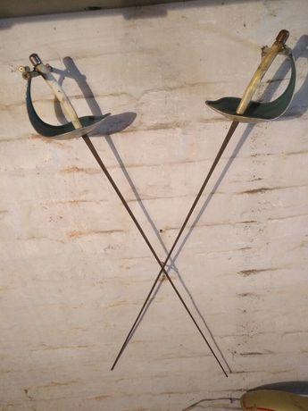 Пара шпаг рапіра рапира шпага фехтування ссср сабля спортивна