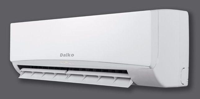 Инверторный и Роторный кондиционер  Daiko до -15°. Монтаж 700 грн.