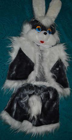 Зайчик карнавальний костюм