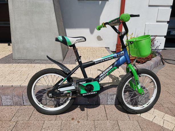 Rower dla dziecka, koła 16'', koła boczne