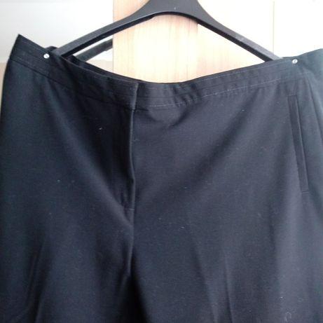 Duże wizytowe czarne spodnie 48-50
