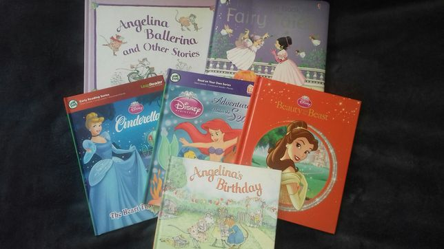 Zestaw książek po angielsku do nauki języka.