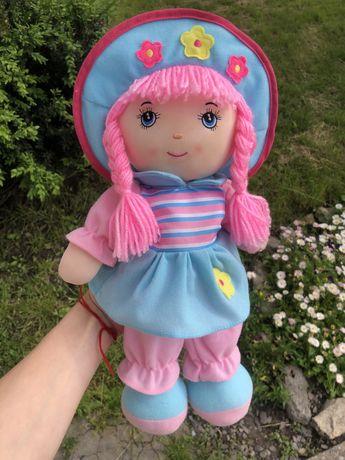 Кукла мягкая, разговорчивая