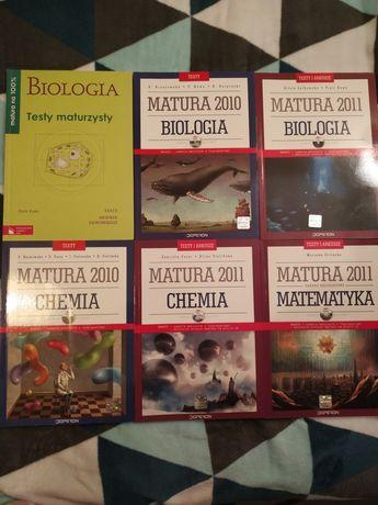 Matura - zadania biologia, chemia, matematyka