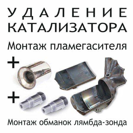 удаление катализатора сажевый фильтр перепрошивка чип тюнинг