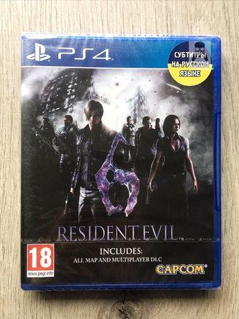Resident Evil 6 (новый) (рус. суб.) PS4 Акции !! Скидки !! Гарантия !