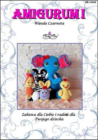 Książka Amigurumi Nr.1/2020 MiśQMaj Polskie wzory na szydełkowe maskot