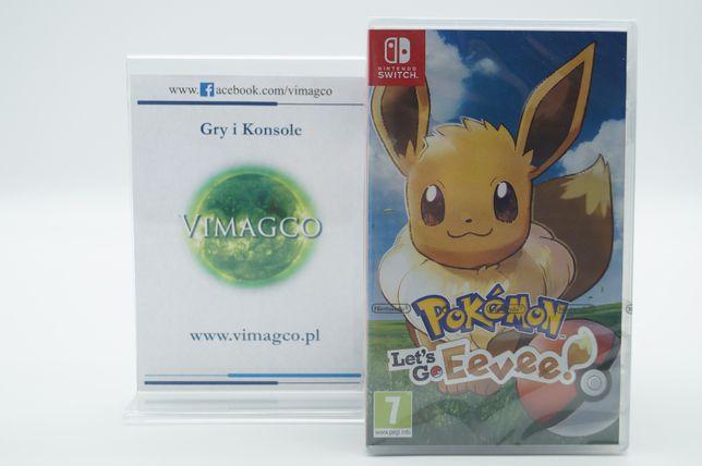 SWITCH Pokémon Let's Go Eevee! Sklep Gry i Konsole VIMAGCO