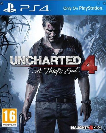 UNCHARTED 4 Kres złodzieja PS4 PL Thief's End idealna
