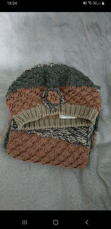 Zestaw czapka plus szalik