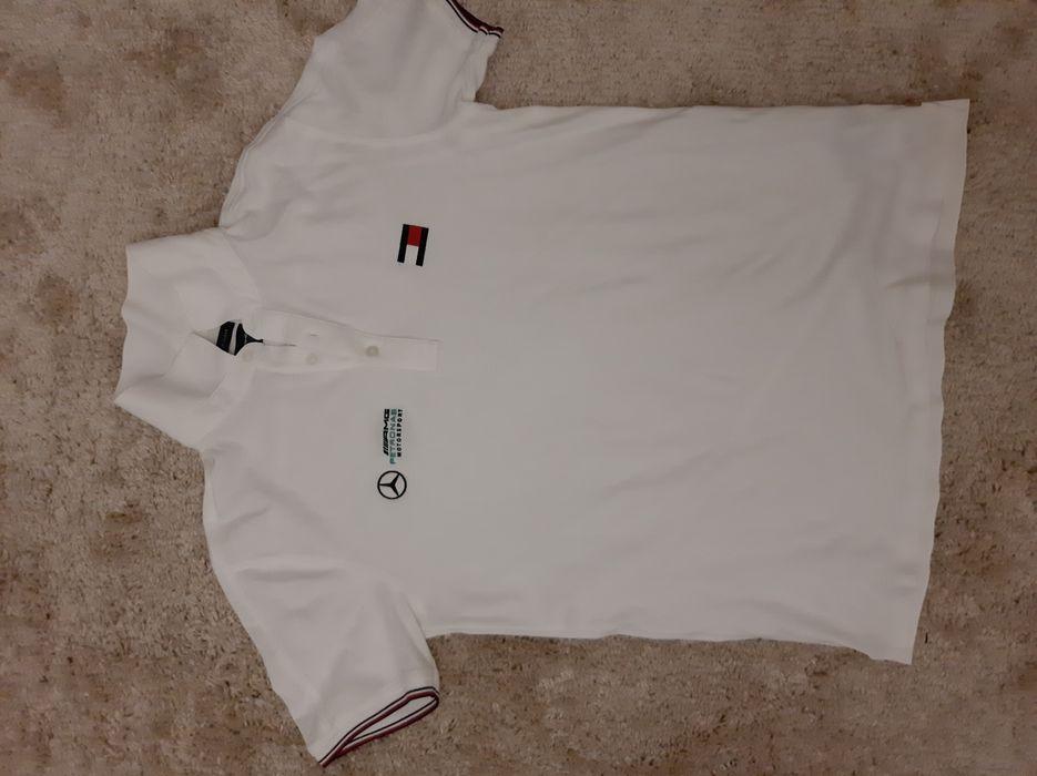 Мужская футболка тениска Tommy Hilfiger белая xxl оригинал Полтава - изображение 1