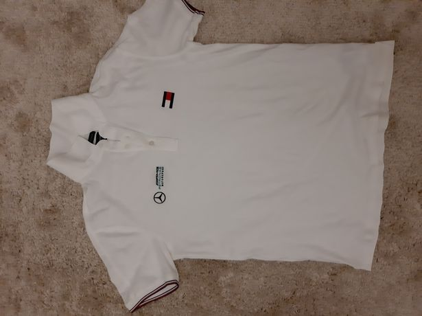Мужская футболка тениска Tommy Hilfiger белая xxl оригинал
