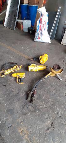 Martelo hidraulico e acessórios