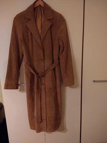 Płaszcz damski Zamszowy Bonprix