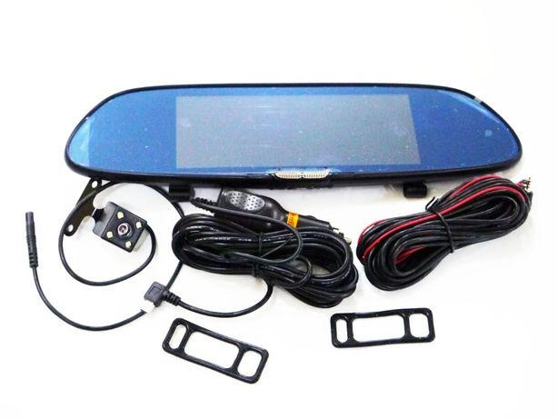Сенсорный экран 7 д. Зеркало заднего вида с видео регистратором + 2 ка