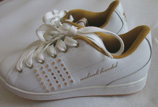 NOWE buty skórzane damskie 39 trampki sportowe skóra