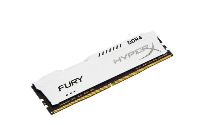Память HyperX 16 GB DDR4 2400 MHz Fury White (HX424C15FW/16)