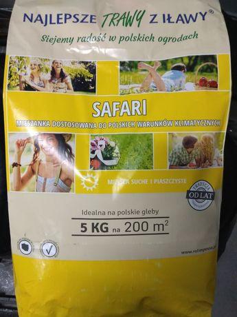 Trawa nasiona 5 kg - mieszanka SAFARI