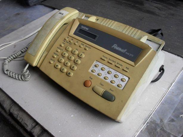 Факс Телефон Personal FAX 275 Быстрый набор Fax Brother Copy Копир