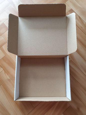 Pudełko Karton z Klapką 19x24x6 cm Komplet 10szt = 3zł (0,30gr/szt)