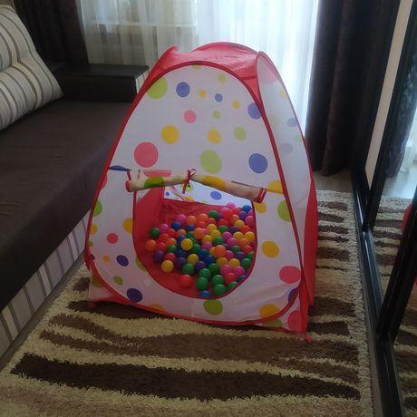 Игровая палатка-домик с шариками