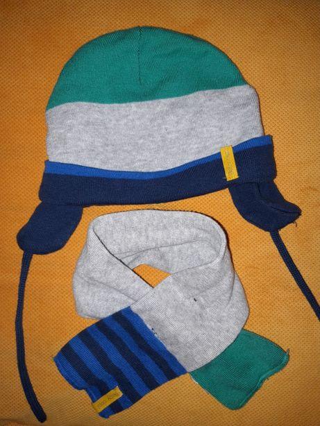 Komplet H&M 86/92 czapka i szalik