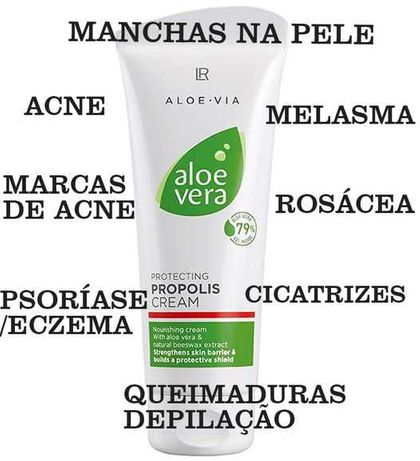 Aloe Vera Creme Protetor com Propólis