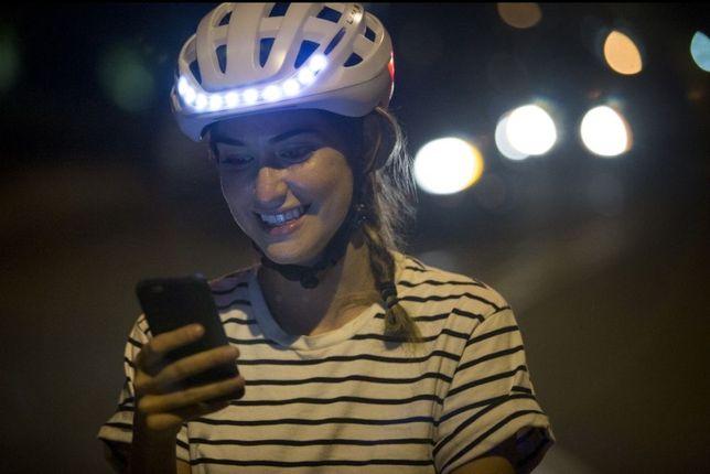 Capacete Lumos vendido p/Apple agora só por (79€) GPS, Bluethoot, Etc