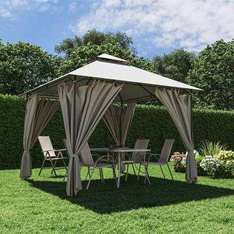 Беседка альтанка навес садовый павильон 3 х 3м ткань полиэстер, шатер