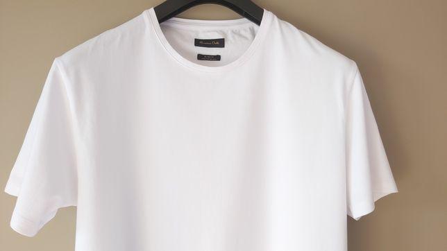 Massimo Dutti koszulka tshirt XL jakość premium