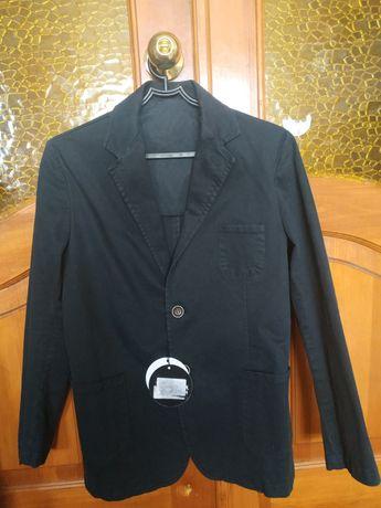 Піджак джинсовий чорний